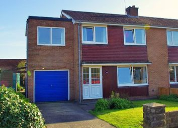 Thumbnail 4 bed semi-detached house for sale in Wycliffe Avenue, Northallerton