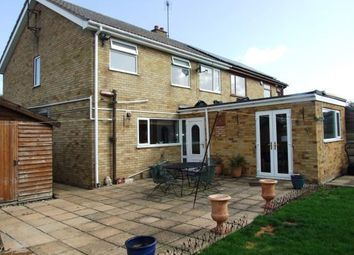 Thumbnail 3 bedroom semi-detached house for sale in West Row, Bury St. Edmunds, Suffolk
