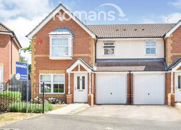 Thumbnail 3 bed semi-detached house to rent in Bushell Way, Arborfield, Reading