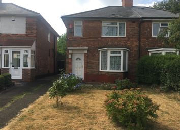 Thumbnail 3 bed semi-detached house to rent in Jerry's Lane, Erdington