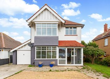 Thumbnail 3 bedroom detached house for sale in St Lawrence Avenue, Worthing, West Sussex