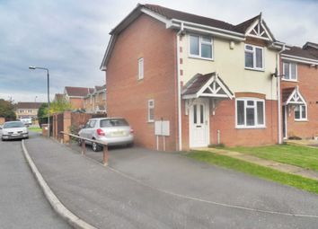 Thumbnail 3 bed end terrace house to rent in Meadow Brook Close, Littleover, Derby