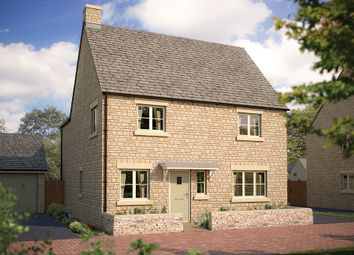 "Thumbnail 4 bedroom detached house for sale in ""The Henever"" at Cinder Lane, Fairford"