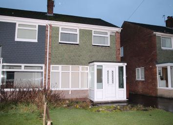 Thumbnail 3 bedroom semi-detached house to rent in Denbigh Close, Hazel Grove, Stockport