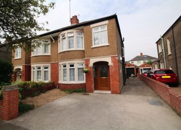 Thumbnail 4 bed semi-detached house for sale in St. Angela Road, Heath, Cardiff