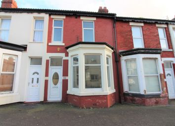 3 bed terraced house to rent in Ribble Road, Blackpool, Lancashire FY1