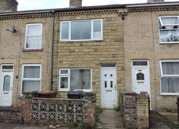Thumbnail 3 bedroom terraced house to rent in Charles Street, Eastfield, Peterborough