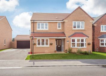 Thumbnail 4 bed detached house for sale in Privet Drive, Thorpe Willoughby, Selby