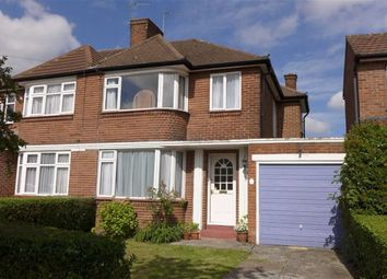 Thumbnail 3 bed semi-detached house for sale in Kynance Gardens, Stanmore, Middlesex