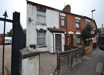 Thumbnail 2 bed terraced house for sale in Knighton Lane, Leicester