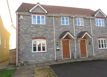 Thumbnail 3 bedroom semi-detached house for sale in Coxley Meadows, Coxley, Wells