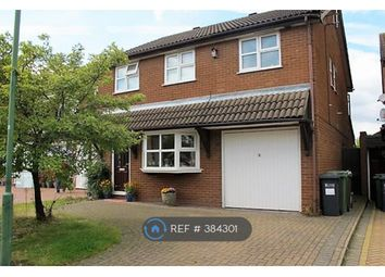 Thumbnail 4 bed detached house to rent in Rushford Close, Solihull