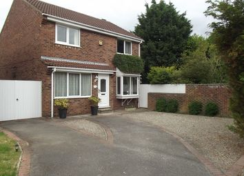 Thumbnail 4 bed detached house for sale in Halifax Court, Rawcliffe, York