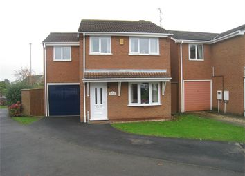 Thumbnail 4 bed detached house for sale in Ambergate Close, Broughton Astley, Leicester