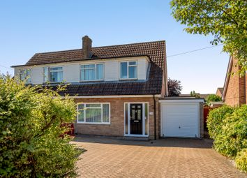 Thumbnail 3 bed semi-detached house for sale in Sagecroft Road, Thatcham
