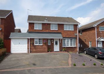 Thumbnail 4 bed detached house for sale in Peacehaven Grove, Trentham, Stoke-On-Trent