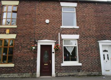 Thumbnail 2 bed terraced house for sale in Dunwood Park Courts, Milnrow Road, Shaw, Oldham