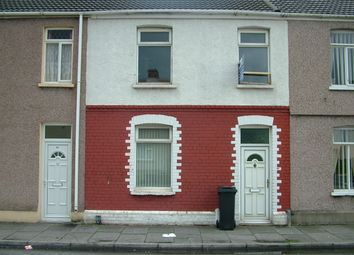 Thumbnail 3 bed terraced house to rent in Sandfields Road, Aberavon