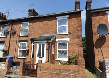 Thumbnail 2 bedroom end terrace house for sale in Woodville Road, Ipswich, Suffolk