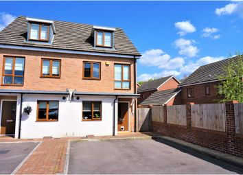 Thumbnail 3 bedroom semi-detached house for sale in Highpath Way, Limes Park, Basingstoke