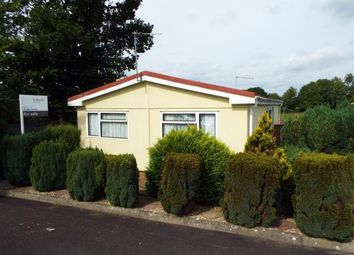 Thumbnail 2 bed mobile/park home for sale in Otter Valley Park, Honiton, Devon