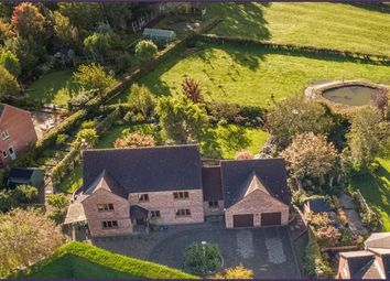 Thumbnail 4 bed detached house for sale in Horsemans Green, Whitchurch