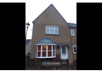 Thumbnail 3 bed end terrace house to rent in Calcutt Way, Shirley, Solihull