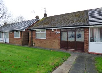 Thumbnail 1 bed semi-detached bungalow for sale in Oaks Close, Clock Face, St. Helens