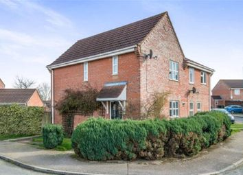 Thumbnail 3 bedroom semi-detached house for sale in Sorrel Drive, Attleborough