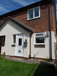 Thumbnail 2 bed semi-detached house to rent in Prestbury Avenue, Westbury Park, Newcastle Under Lyme, Staffordshire