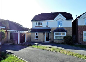Thumbnail 4 bedroom detached house for sale in Newstead Close, Abbeymeads, Swindon