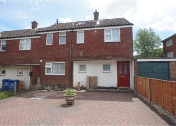 Thumbnail 3 bed end terrace house for sale in Bloomfield Crescent, Lichfield