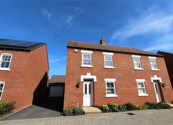 Thumbnail 4 bed semi-detached house for sale in Midsummer Grove, Great Denham, Bedfordshire
