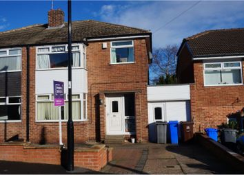 Thumbnail 3 bed semi-detached house for sale in Vicarage Crescent, Grenoside Sheffield