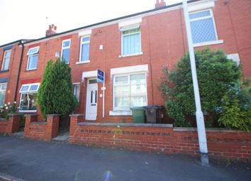 Thumbnail 3 bed terraced house for sale in Longford Road, Reddish, Stockport