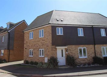 Thumbnail 3 bed semi-detached house for sale in Dunnock Drive, Leighton Buzzard