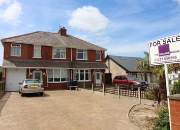 Thumbnail 5 bed semi-detached house for sale in Blackpool Old Road, Highfurlong