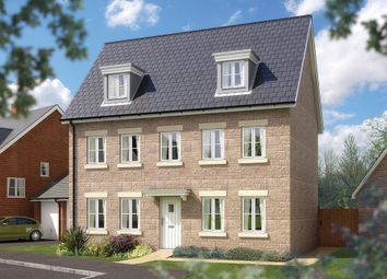 "Thumbnail 5 bed detached house for sale in ""The Warwick"" at Bradley Road, Bovey Tracey, Newton Abbot"