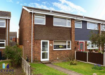 Thumbnail 3 bed property for sale in Branwell Close, Christchurch