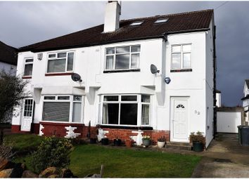Thumbnail 4 bedroom semi-detached house for sale in Buckstone Oval, Alwoodley