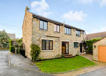 Thumbnail 4 bed detached house for sale in Wetherby Road Scarcroft Village, Leeds