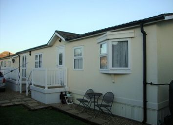 Thumbnail 2 bed mobile/park home for sale in Manor Park, Grange Road, Uphill, Weston-Super-Mare