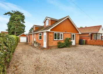 Thumbnail 3 bedroom bungalow for sale in Shipdham Road, Toftwood, Dereham