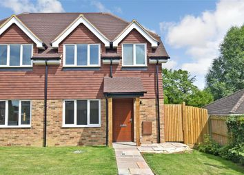 Thumbnail 2 bed semi-detached house for sale in London Road, Ashington, West Sussex