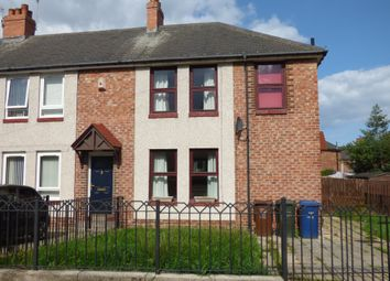 Thumbnail 3 bed terraced house to rent in Kingston Avenue, Walker, Newcastle Upon Tyne