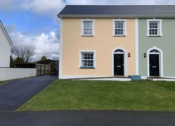 Thumbnail 3 bed semi-detached house for sale in Stad Craig Ddu, Llanon, Ceredigion
