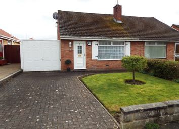 Thumbnail 2 bed semi-detached bungalow for sale in Sunningdale Drive, Bromborough, Wirral