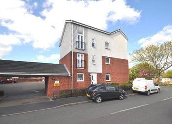 Thumbnail 2 bed flat for sale in Poundlock Avenue, Hanley, Stoke-On-Trent