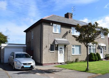 Thumbnail 3 bed semi-detached house for sale in Village Road, Cramlington