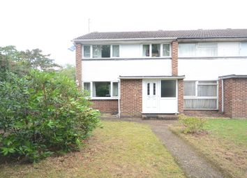 Thumbnail 3 bed end terrace house to rent in Fairwater Drive, Woodley, Reading
